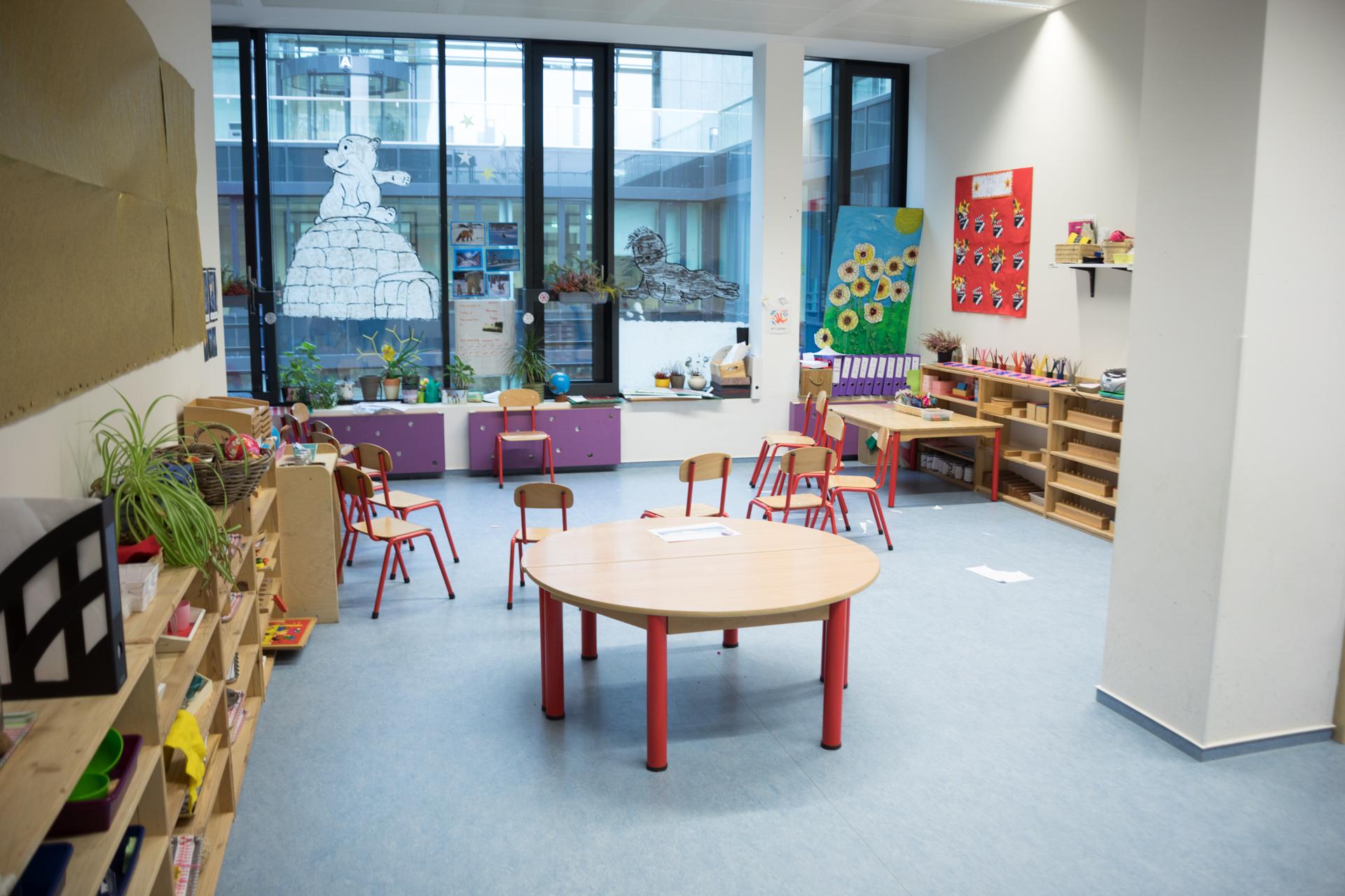 sunflower montessori crèche Luxembourg eagle classroom