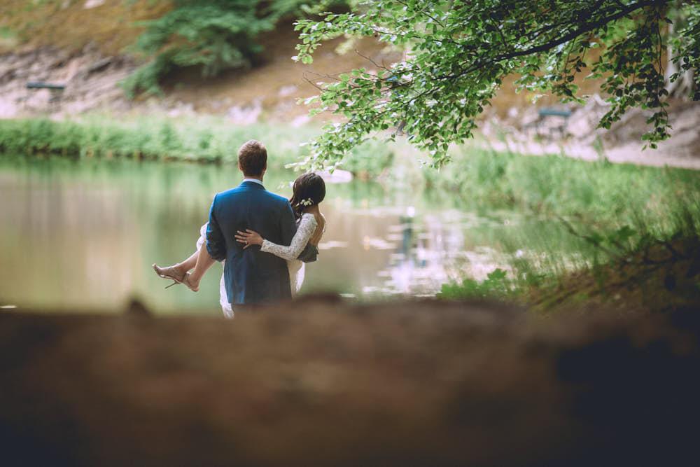 Wedding couple Orangerie Elswout