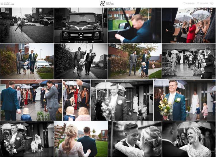 Bruidsfotografie galerij voorbeeld