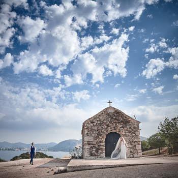 griekenland bruiloft destination wedding trouwportret
