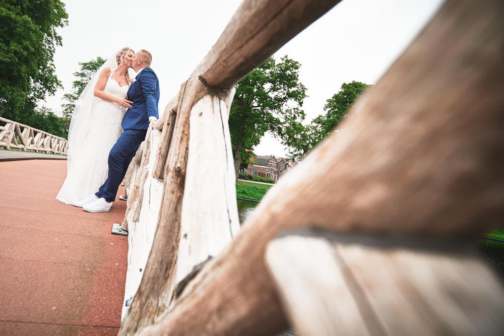 bruiloft in alkmaar trouwportret