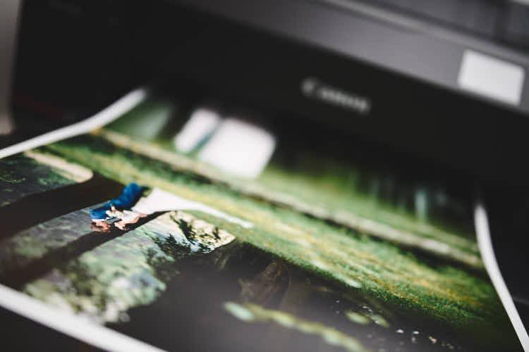 Bruidsportret print