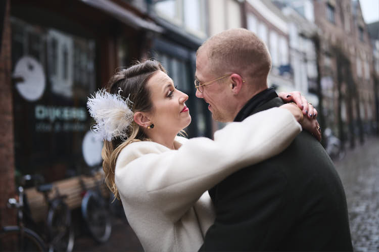 couple in love in haarlem