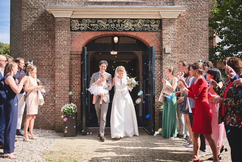 trouwceremonie kerk bloemendaal