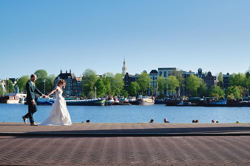 trouwceremonie in krijtberg kerk amsterdam