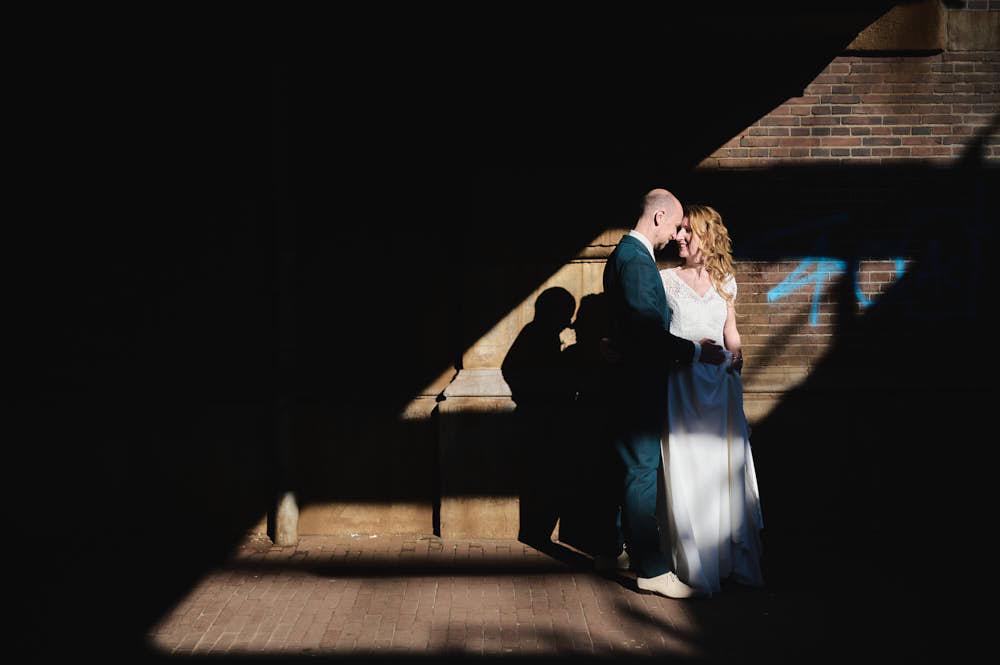 wedding ceremony in the city hall of leiden