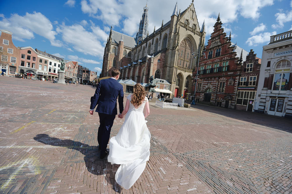 getting married in Haarlem gravenzaal