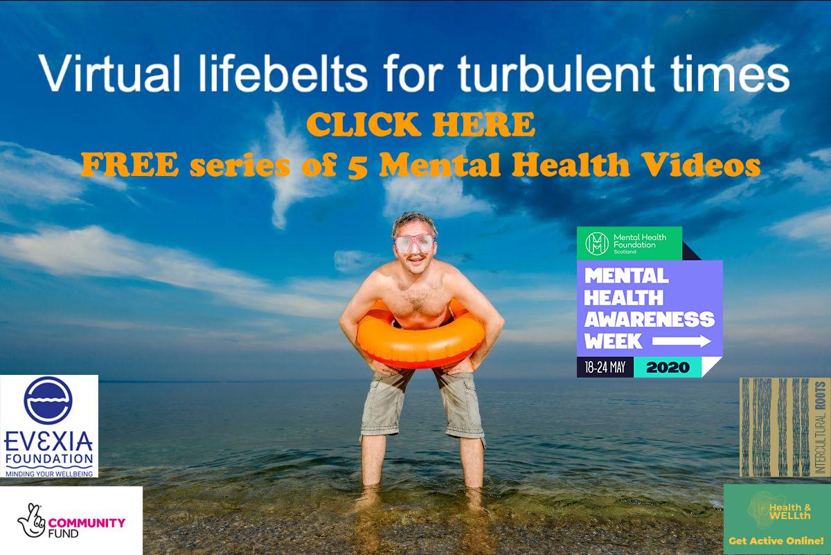 Mental Health Awareness – 'Virtual Lifebelts for Turbulent Times'