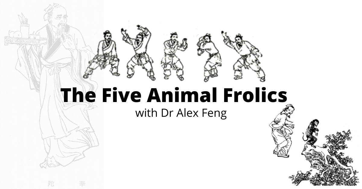 The Five Animal Frolics Medical Qi gong with Dr Alex Feng