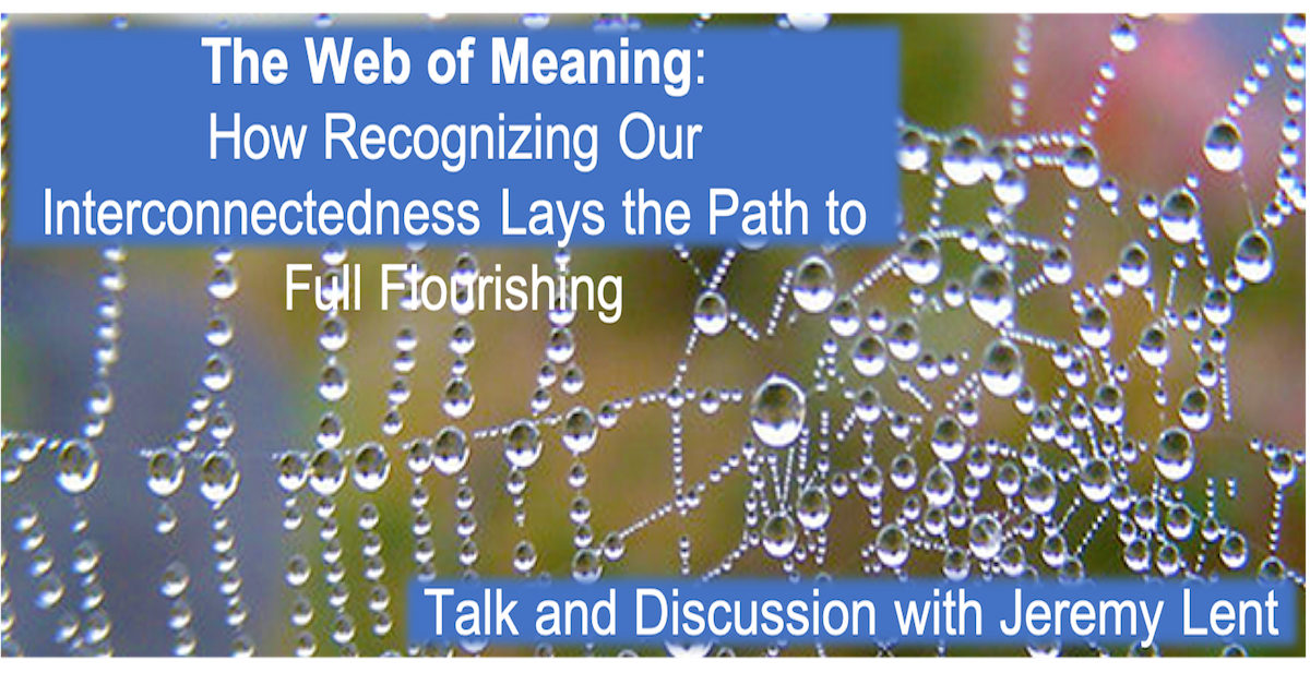 The Web of Meaning with Jeremy Lent