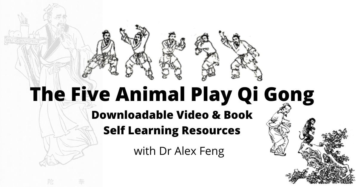 Five Animal Play Qi Gong Video AND Book