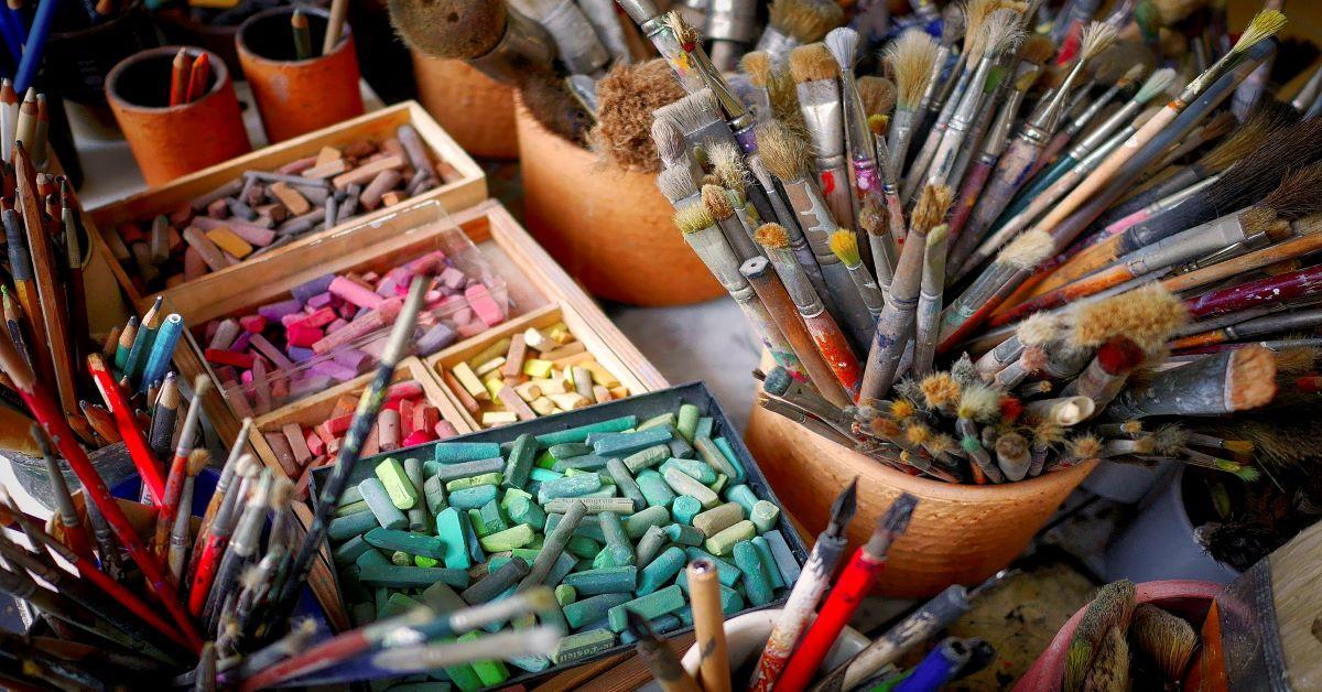 spontaneous-imaginative-expressive Art Workshops with Nasrin Golden