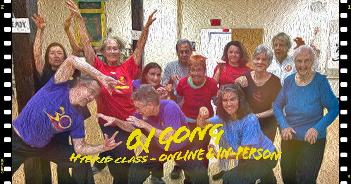 Medical QI GONG - Breath Mind and Movement Classes - ONLINE via Zoom with Dr Alex Feng
