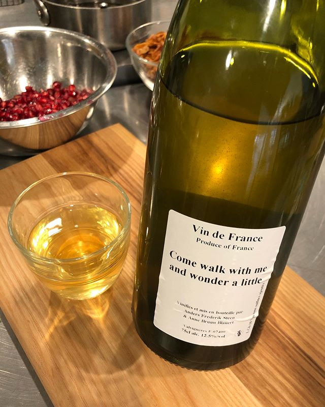 Happy Thanksgiving ✌� We're savoring this delicious natural wine from our neighbors at Fadensonnen... who have opened up a bottle-shop! We're so damn grateful to have neighbors who give us access to the best natty wines from around the world.