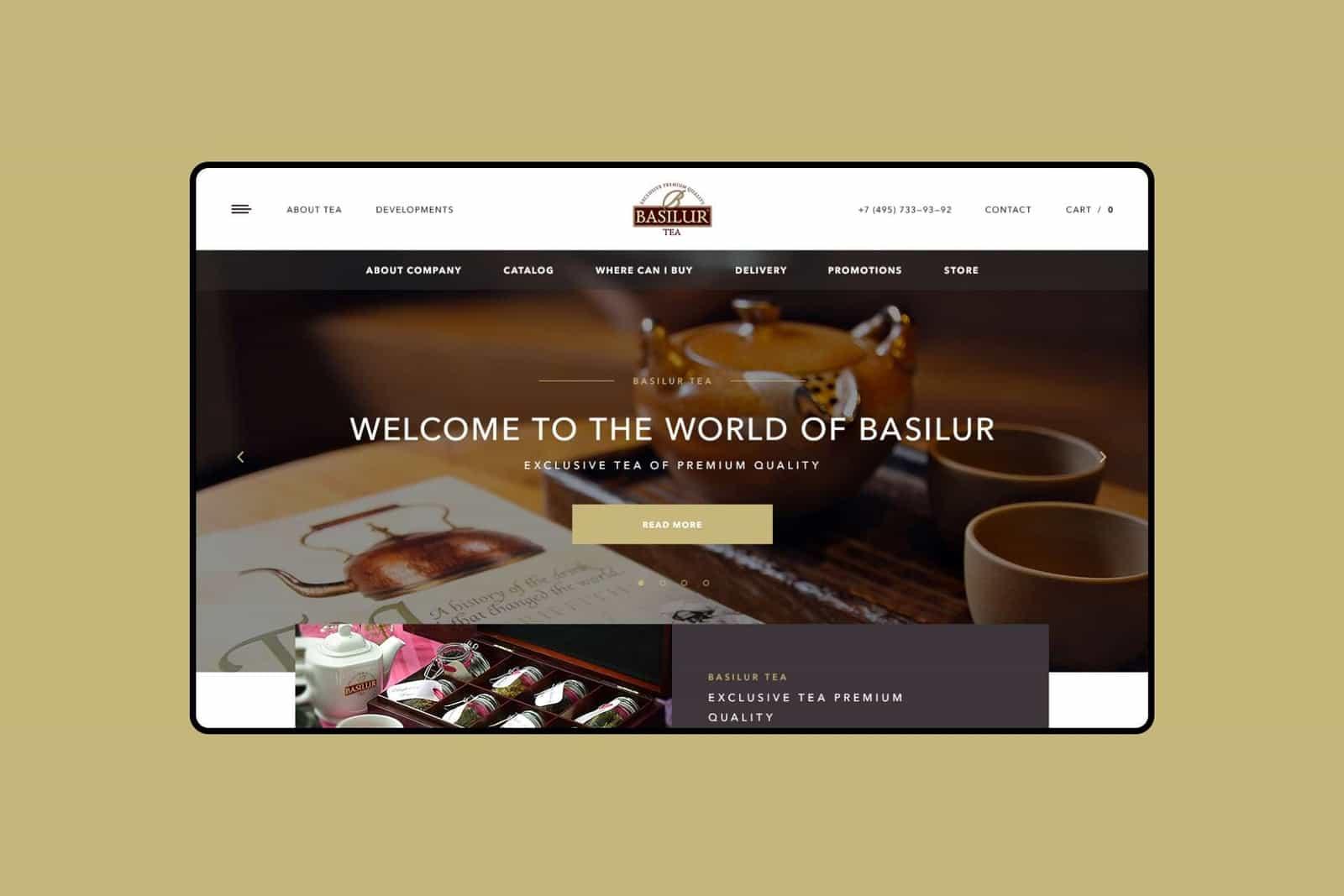 Сайты чайных компаний в россии сайт компании 2к