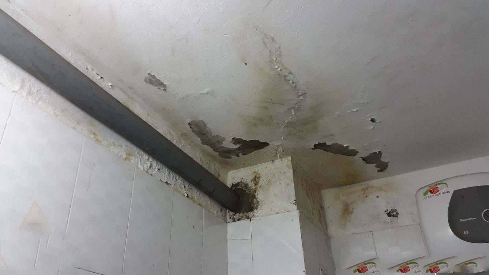 Chống thấm nhà vệ sinh chung cư