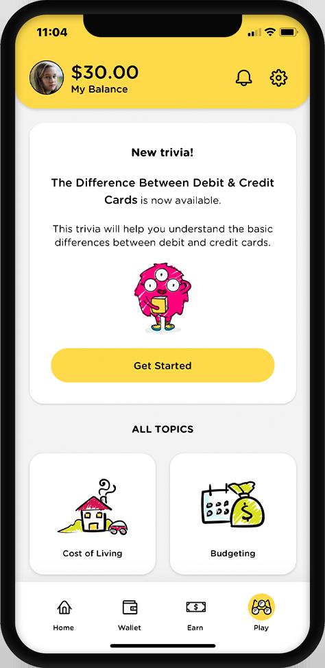 Phone with Mydoh app