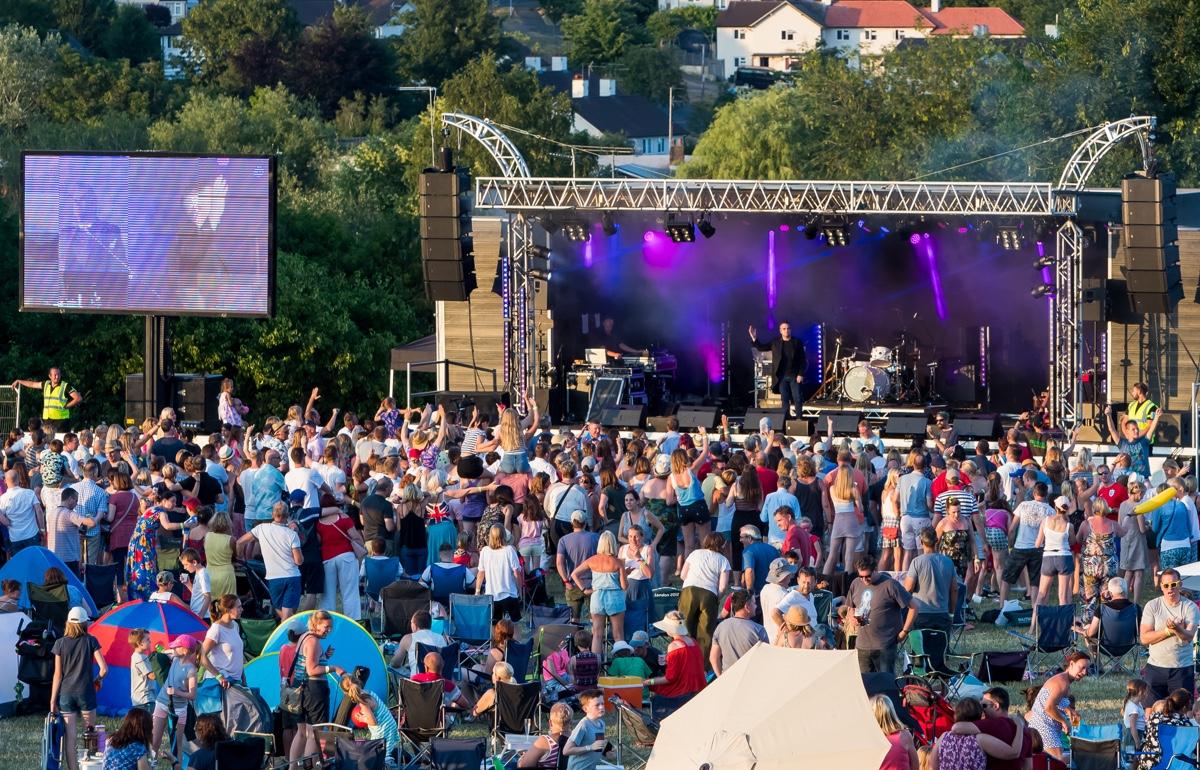 Festival on the Field Harpenden
