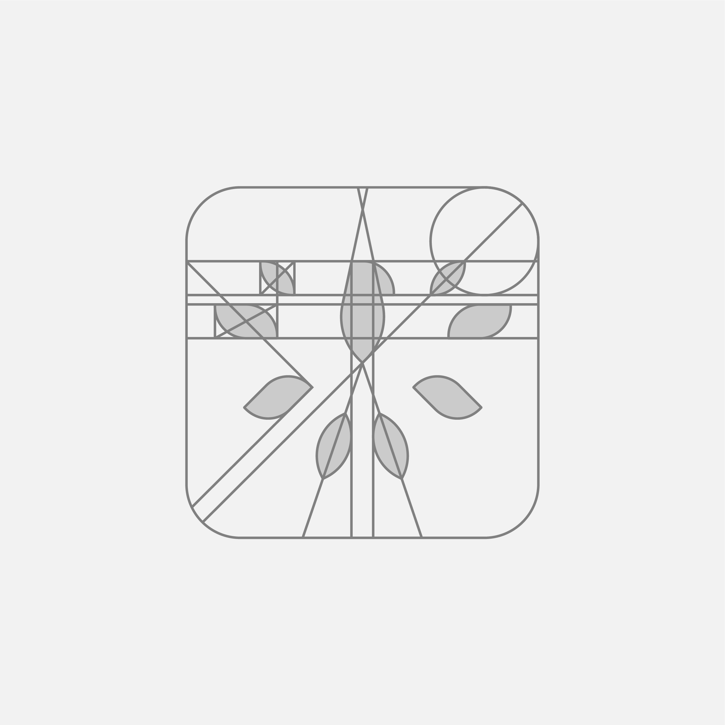 Up and coming logo grid by Eddy Tritten.