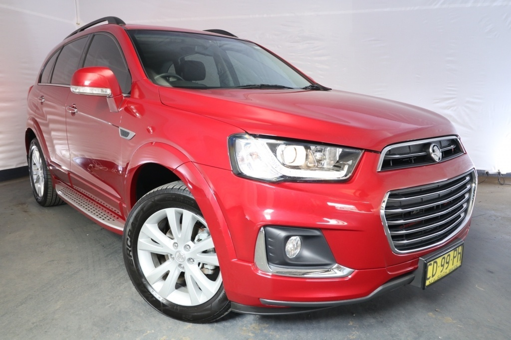 2016 Holden Captiva 7 LT CG MY15 / 6 Speed Automatic / Wagon / 2.2L / 4 Cylinder TURBO / Diesel / 4x4 / 4 door / Model Year '15 November release S7G16A