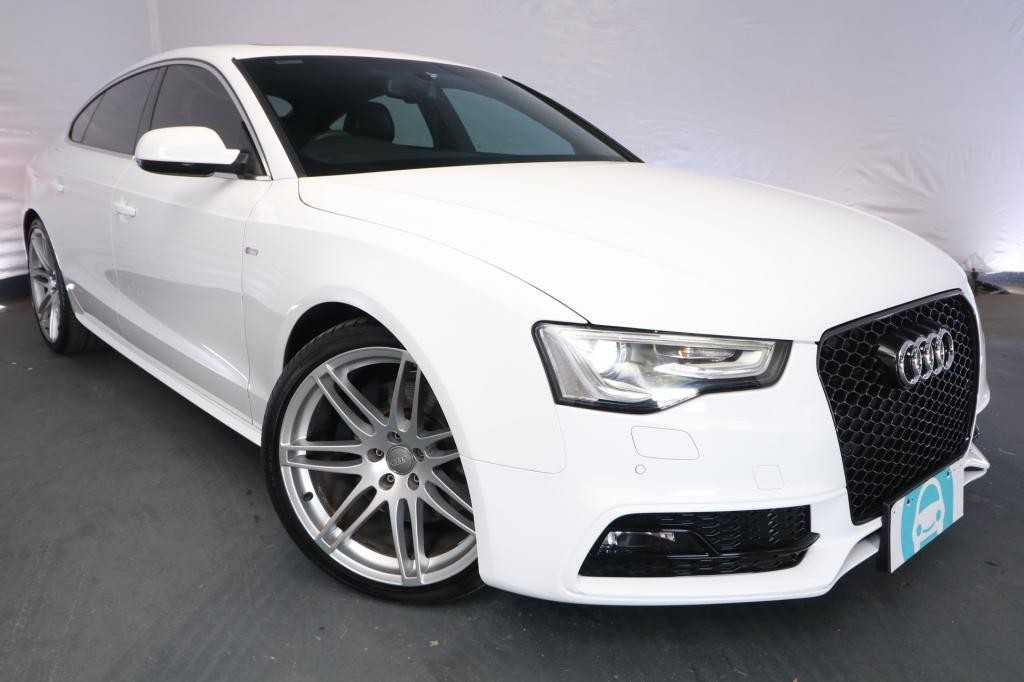 2012 Audi A5 SPORTBACK 3.0 TFSI QUATTRO 8T MY13 / 7 Speed Auto Direct Shift / Hatchback / 3.0L / 6 Cylinder SUPERCHARGED / Petrol / 4x4 / 5 door / Model Year '13 October release OI012J