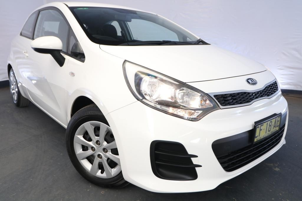 2015 Kia Rio S UB MY15 / 4 Speed Automatic / Hatchback / 1.4L / 4 Cylinder / Petrol / 4x2 / 3 door / Model Year '15 December release SD215A