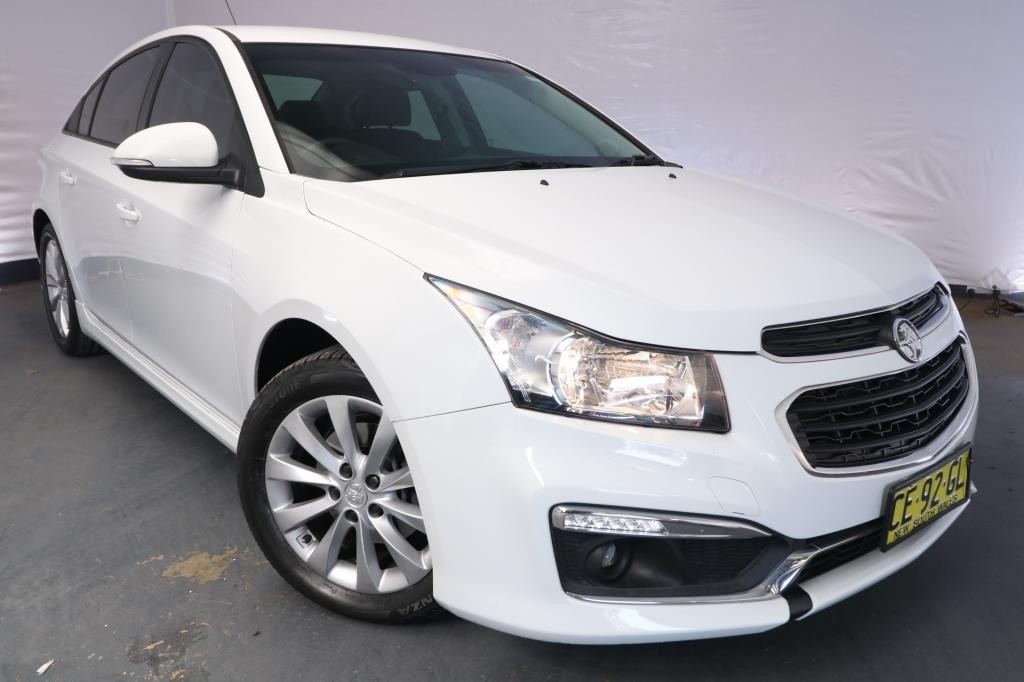 2015 Holden Cruze SRi JH MY14 / 6 Speed Automatic / Sedan / 1.6L / 4 Cylinder TURBO / Petrol / 4x2 / 4 door / Model Year '14 March release P3415A