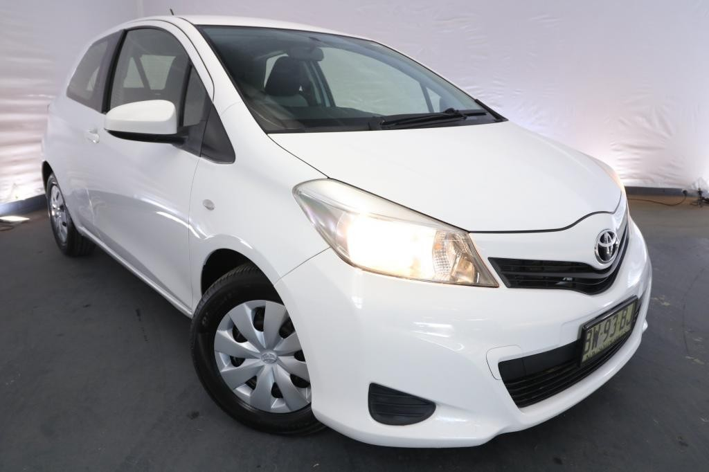 2013 Toyota Yaris YR NCP130R / 4 Speed Automatic / Hatchback / 1.3L / 4 Cylinder / Petrol / 4x2 / 3 door / November release N0413A