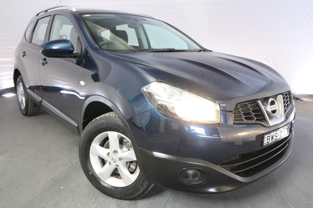 2011 Nissan Dualis +2 ST J10 SERIES II / 6 Speed CVT Auto Sequential / Wagon / 2.0L / 4 Cylinder / Petrol / 4x2 / 4 door / July release KJR11A