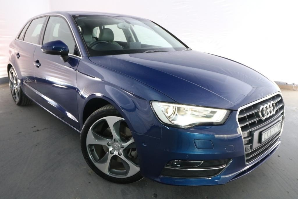 2014 Audi A3 SPORTBACK 1.8 TFSI AMBITION 8V MY14 / 7 Speed Auto Direct Shift / Hatchback / 1.8L / 4 Cylinder TURBO / Petrol / 4x2 / 5 door / Model Year '14 September release Q4514A