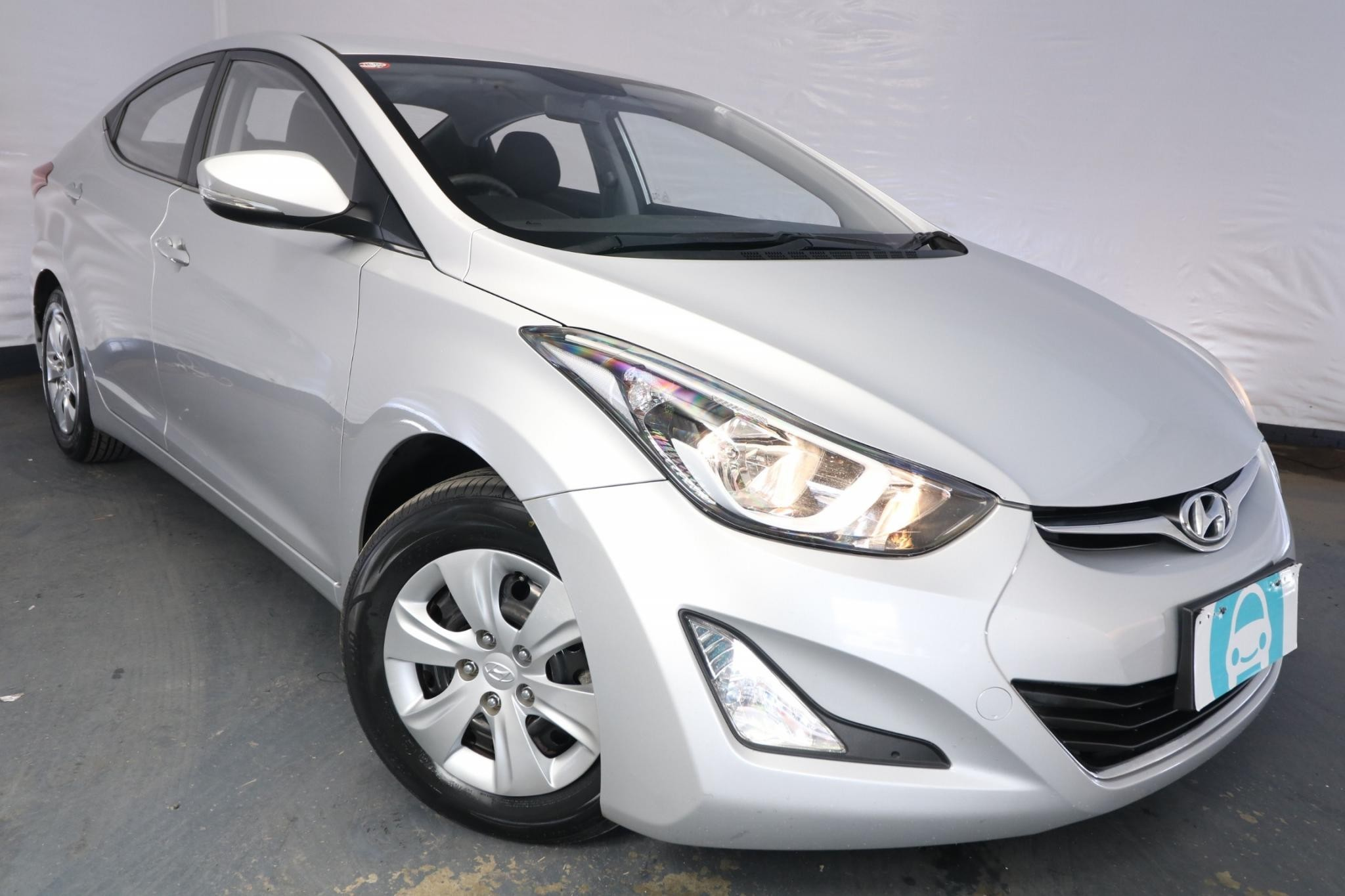 2015 Hyundai Elantra ACTIVE MD SERIES 2 (MD3) / 6 Speed Automatic / Sedan / 1.8L / 4 Cylinder / Petrol / 4x2 / 4 door / January release QII15A