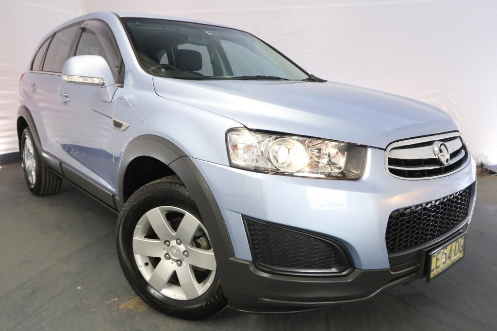2015 Holden Captiva 7 LS CG MY15 / 6 Speed Automatic / Wagon / 2.4L / 4 Cylinder / Petrol / 4x2 / 4 door / Model Year '15 November release S7D15A