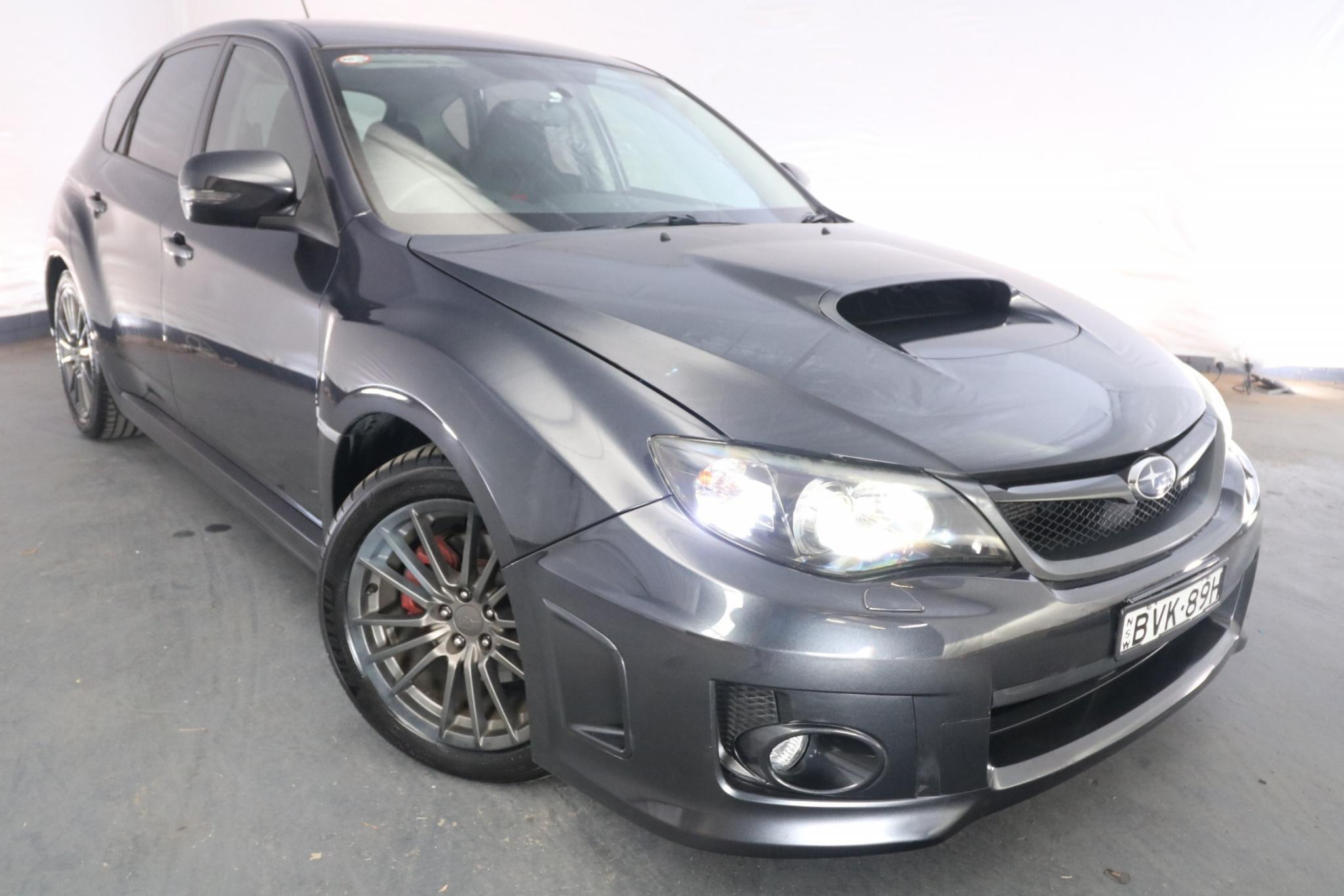 2011 Subaru Impreza WRX MY11 / 5 Speed Manual / Hatchback / 2.5L / 4 Cylinder TURBO / Petrol / 4x4 / 5 door / Model Year '11 July release KTD11A