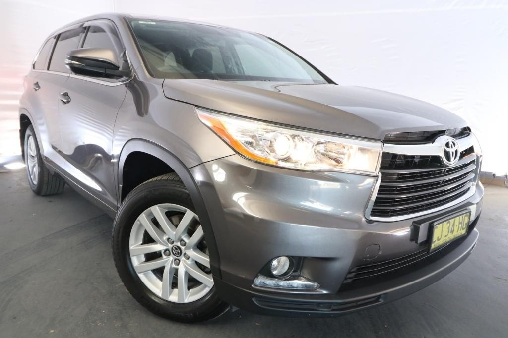 2016 Toyota Kluger GX GSU55R / 6 Speed Automatic / Wagon / 3.5L / 6 Cylinder / Petrol / 4x4 / 4 door / March release QWY16A