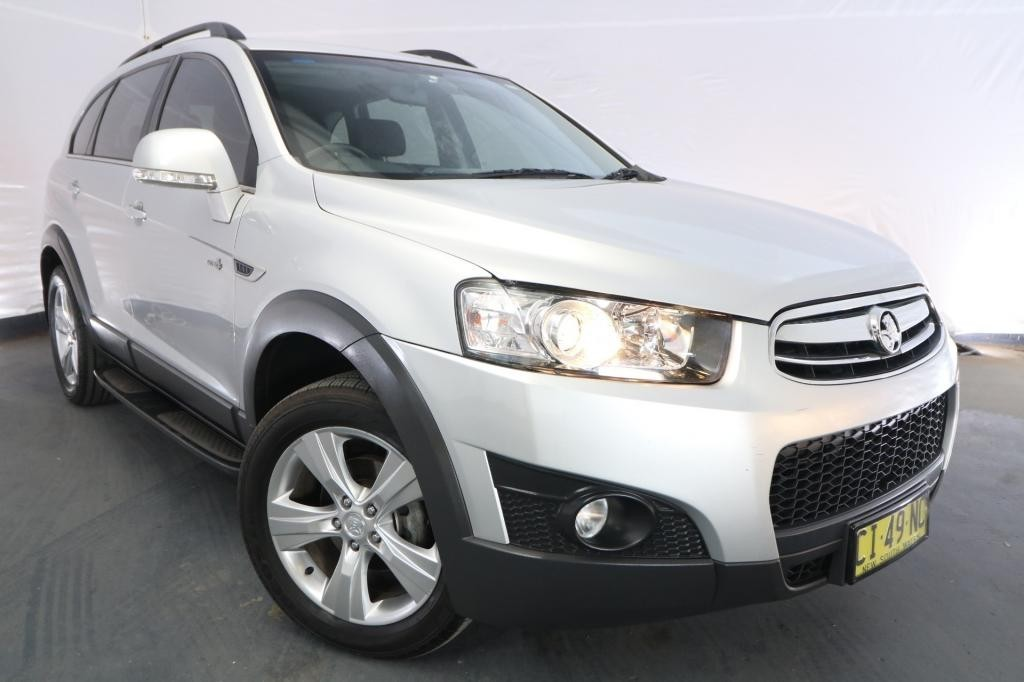 2013 Holden Captiva 7 CX CG MY13 / 6 Speed Automatic / Wagon / 2.2L / 4 Cylinder TURBO / Diesel / 4x4 / 4 door / Model Year '13 April release P9213D
