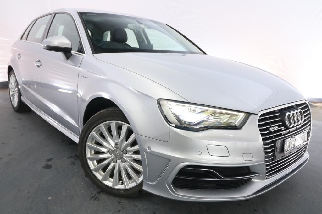 2015 Audi A3 SPORTBACK E-TRON HYBRID 8V MY15 / 6 Speed Automatic / Hatchback / 1.4L / 4 Cylinder TURBO / Petrol / Electric / 4x2 / 5 door / Model Year '15 August release TB615H