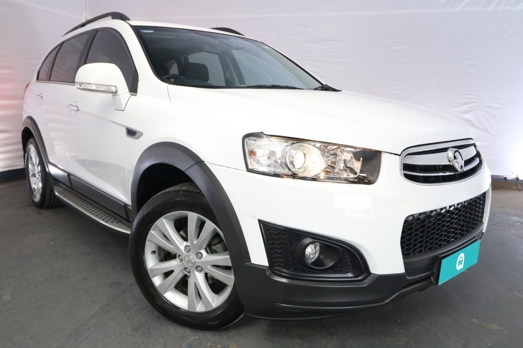 2015 Holden Captiva 7 LT CG MY15 / 6 Speed Automatic / Wagon / 2.2L / 4 Cylinder TURBO / Diesel / 4x4 / 4 door / Model Year '15 November release S7G15A