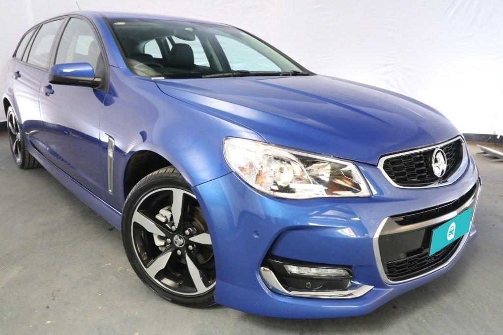 2017 Holden Commodore SV6 VF II MY17 / 6 Speed Automatic / Sportwagon / 3.6L / 6 Cylinder / Petrol / 4x2 / 4 door / Model Year '17 January release VVN17A