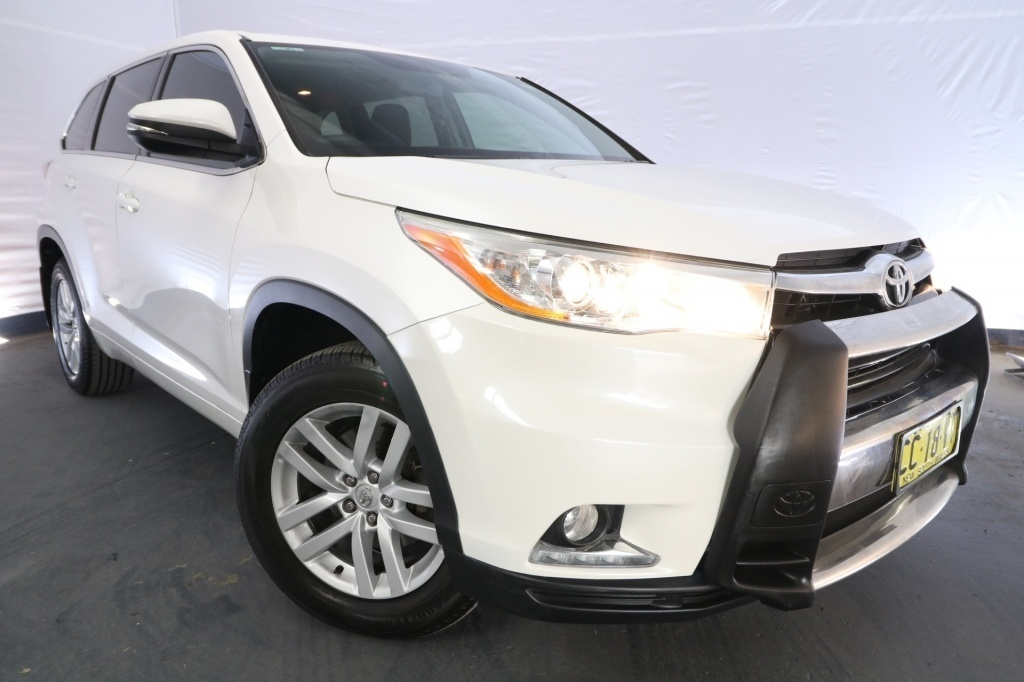 2015 Toyota Kluger GX GSU55R / 6 Speed Automatic / Wagon / 3.5L / 6 Cylinder / Petrol / 4x4 / 4 door / March release QWY15A