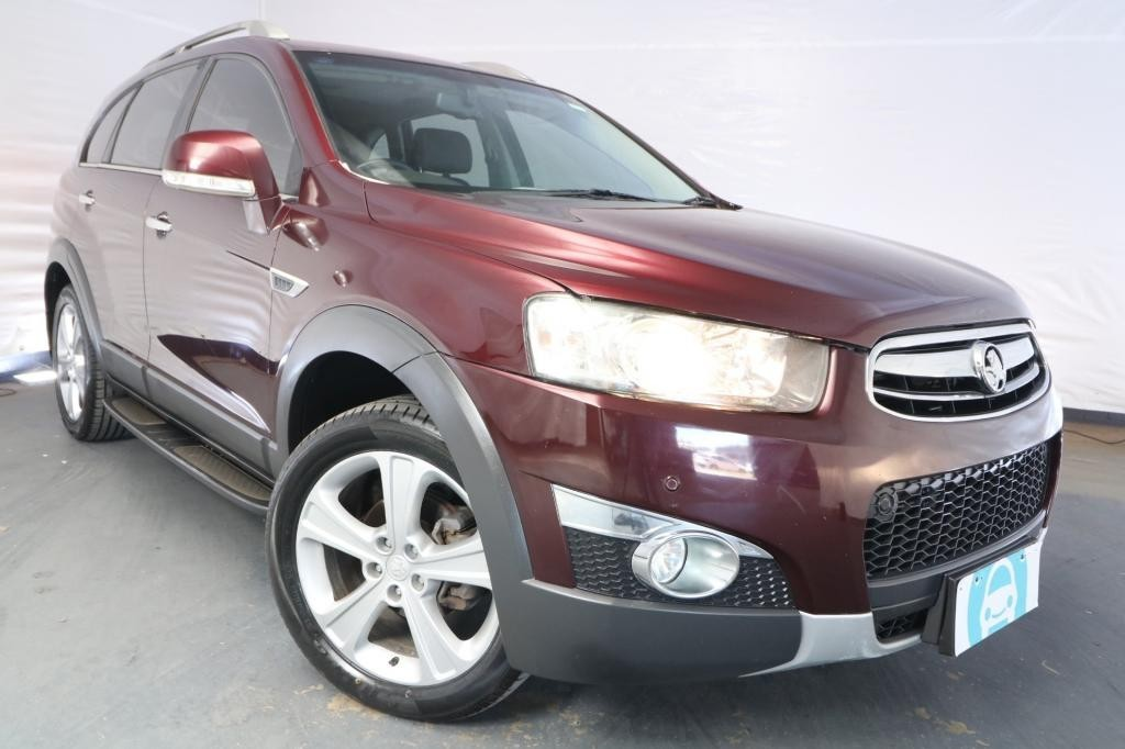 2013 Holden Captiva 7 LX CG MY12 / 6 Speed Automatic / Wagon / 2.2L / 4 Cylinder TURBO / Diesel / 4x4 / 4 door / Model Year '12 June release NSZ13A