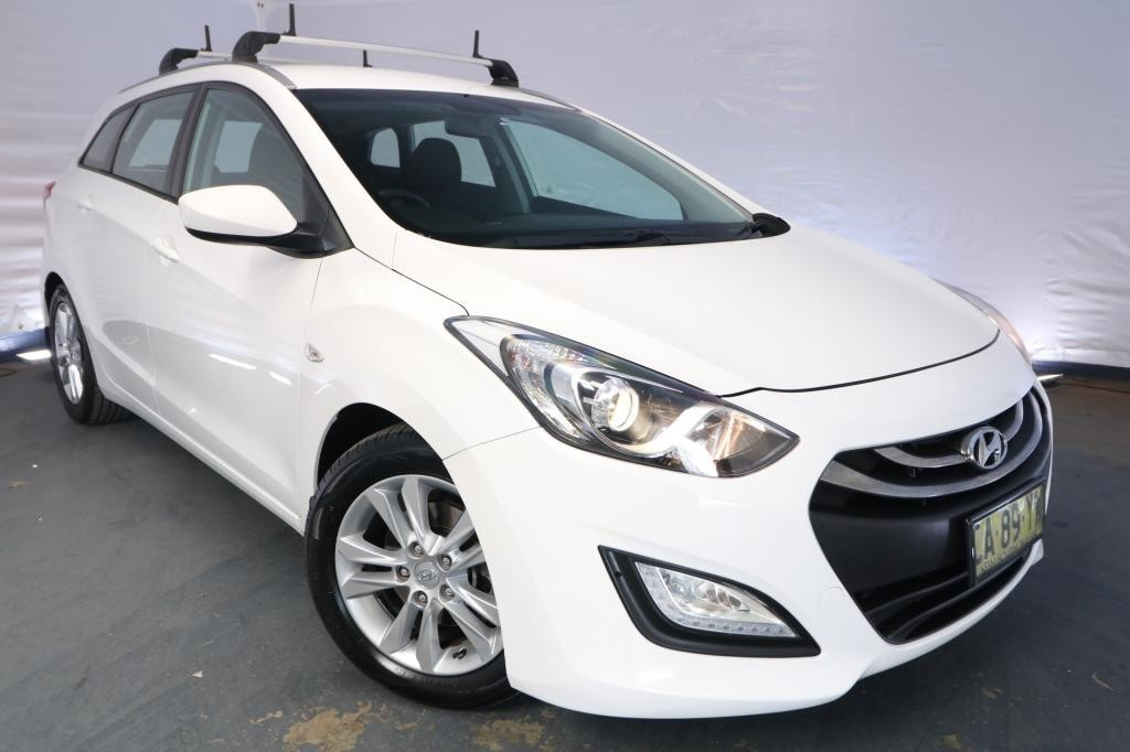 2014 Hyundai i30 TOURER ACTIVE 1.6 GDi GD / 6 Speed Automatic / Wagon / 1.6L / 4 Cylinder / Petrol / 4x2 / 4 door / February release OTD14A