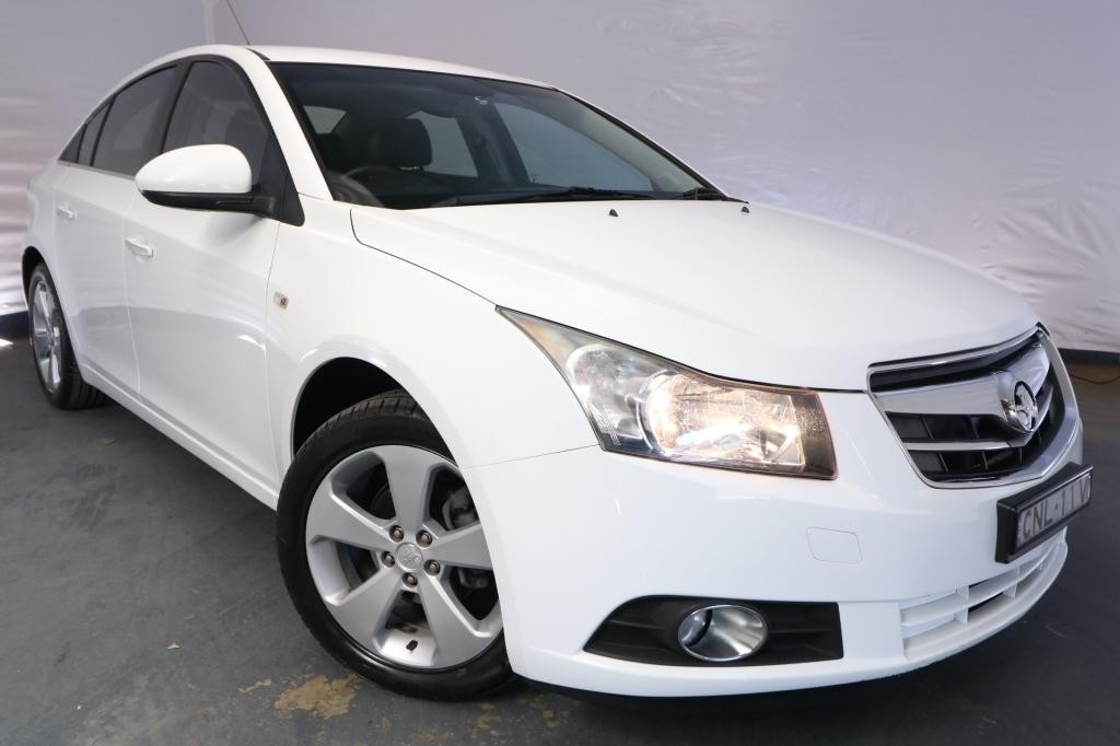 2010 Holden Cruze CDX JG / 6 Speed Automatic / Sedan / 1.8L / 4 Cylinder / Petrol / 4x2 / 4 door / June release JH210A