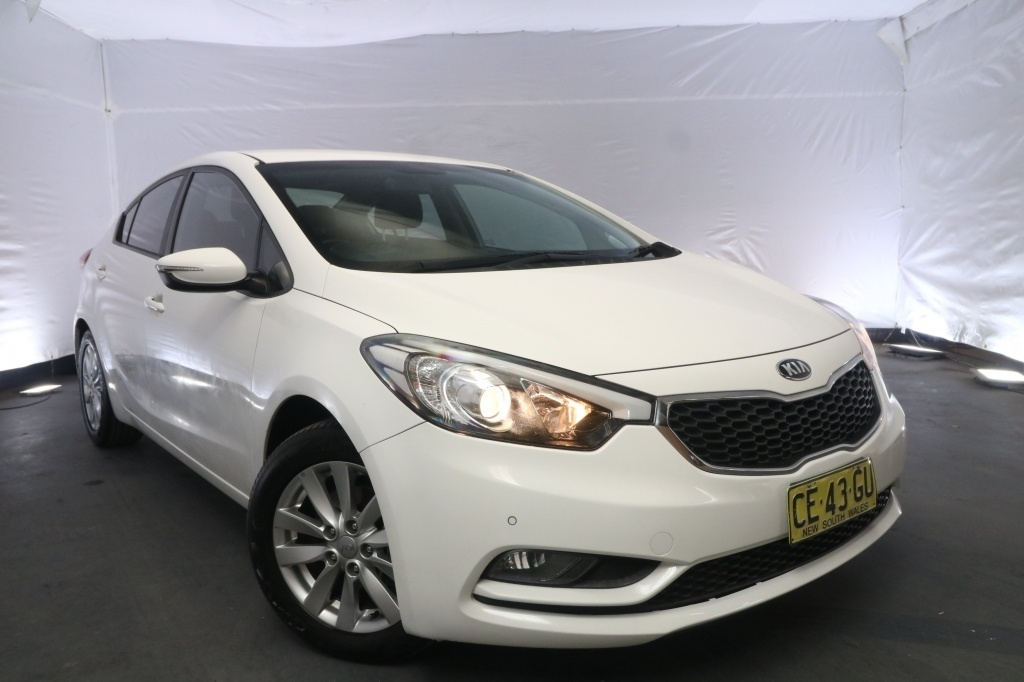 2015 Kia Cerato S PREMIUM YD MY15 / 6 Speed Automatic / Sedan / 1.8L / 4 Cylinder / Petrol / 4x2 / 4 door / Model Year '15 July release RFZ15A