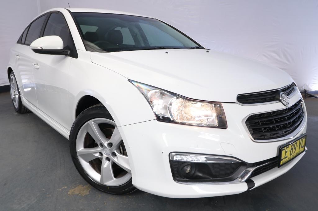 2015 Holden Cruze SRi V JH MY15 / 6 Speed Automatic / Sedan / 1.6L / 4 Cylinder TURBO / Petrol / 4x2 / 4 door / Model Year '15 February release SID15B