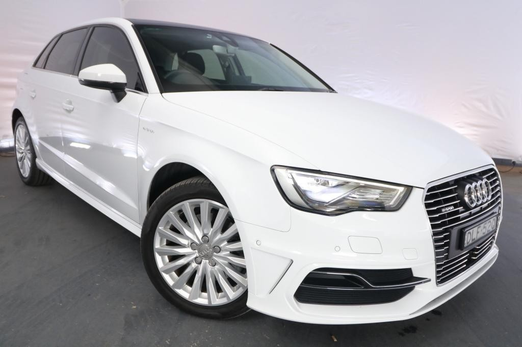 2016 Audi A3 SPORTBACK E-TRON HYBRID 8V MY15 / 6 Speed Automatic / Hatchback / 1.4L / 4 Cylinder TURBO / Petrol / Electric / 4x2 / 5 door / Model Year '15 August release TB616A