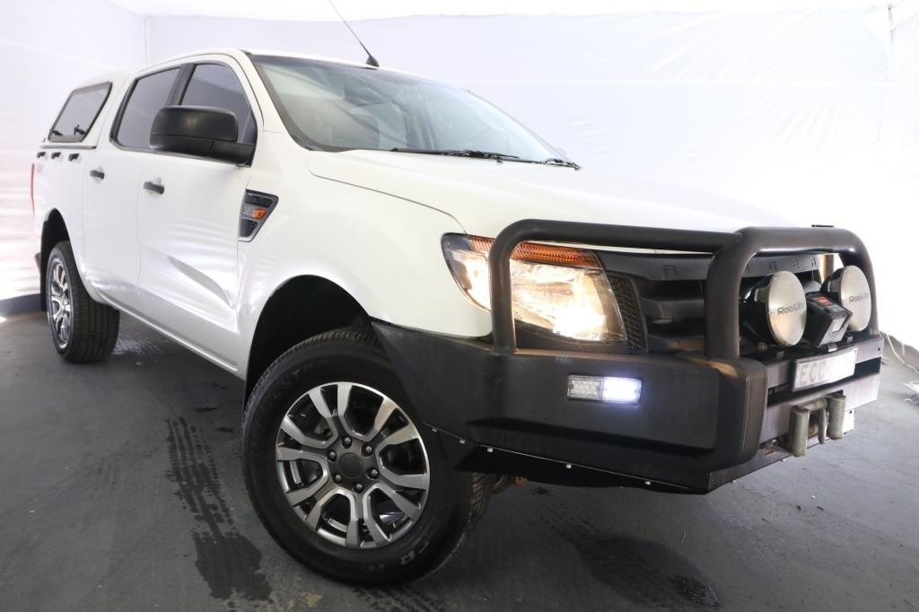 2013 Ford Ranger XL 3.2 PX / 6 Speed Manual / Dual Cab Utility / 3.2L / 5 Cylinder TURBO / Diesel / 4x4 / 4 door / October release MQV13A