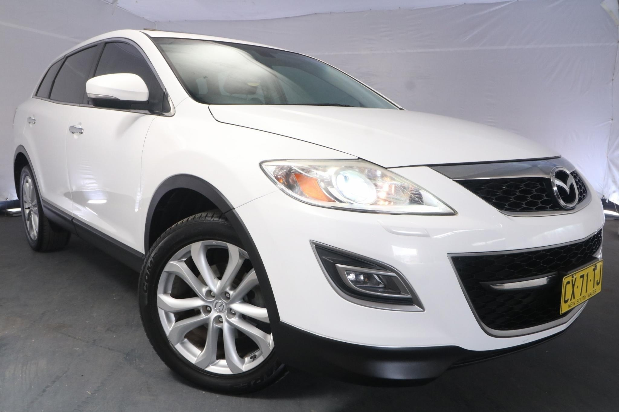 2011 Mazda CX-9 LUXURY 10 UPGRADE / 6 Speed Auto Activematic / Wagon / 3.7L / 6 Cylinder / Petrol / 4x4 / 4 door / November release LGA11A