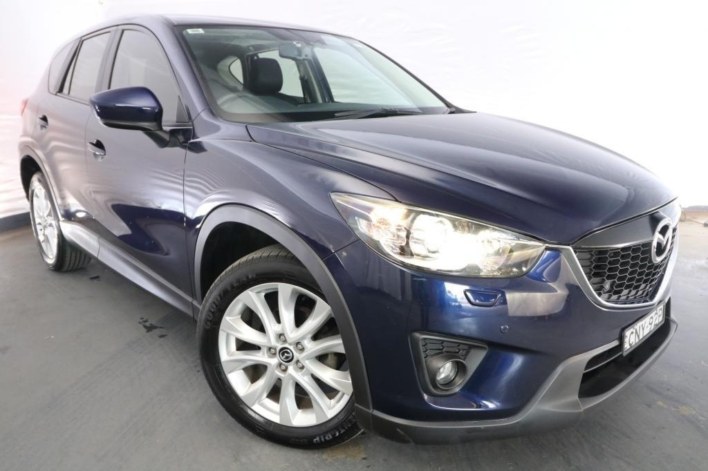 2013 Mazda CX-5 GRAND TOURER / 6 Speed Automatic / Wagon / 2.2L / 4 Cylinder TURBO / Diesel / 4x4 / 4 door / February release NHO13A