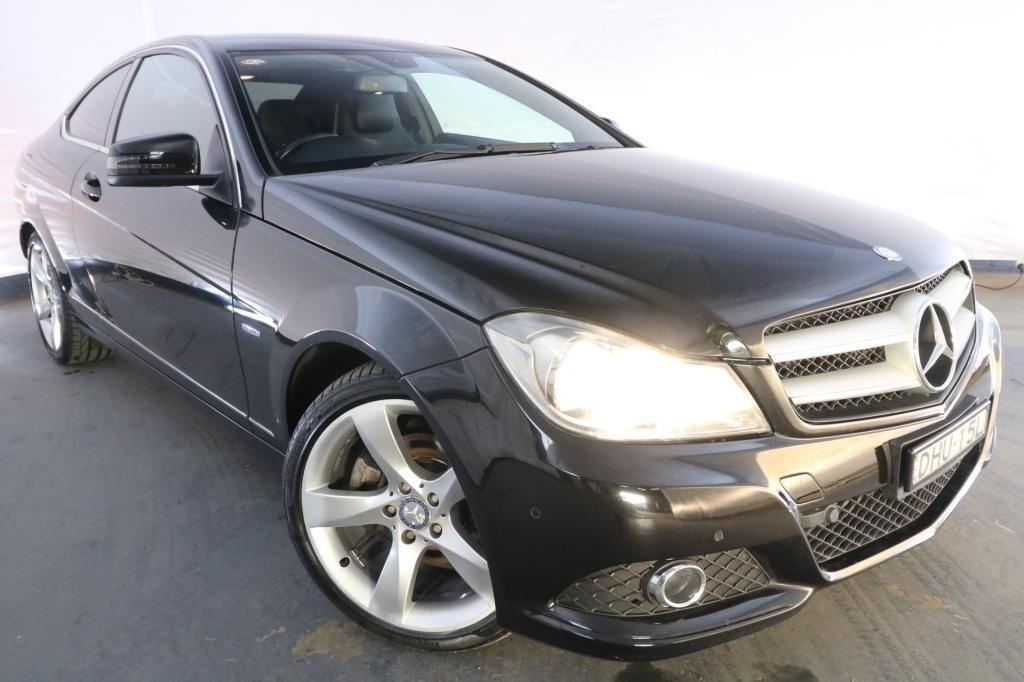 2011 Mercedes-Benz C250 BE W204 MY11 / 7 Speed Automatic G-Tronic / Coupe / 1.8L / 4 Cylinder TURBO / Petrol / 4x2 / 2 door / Model Year '11 July release MA611G
