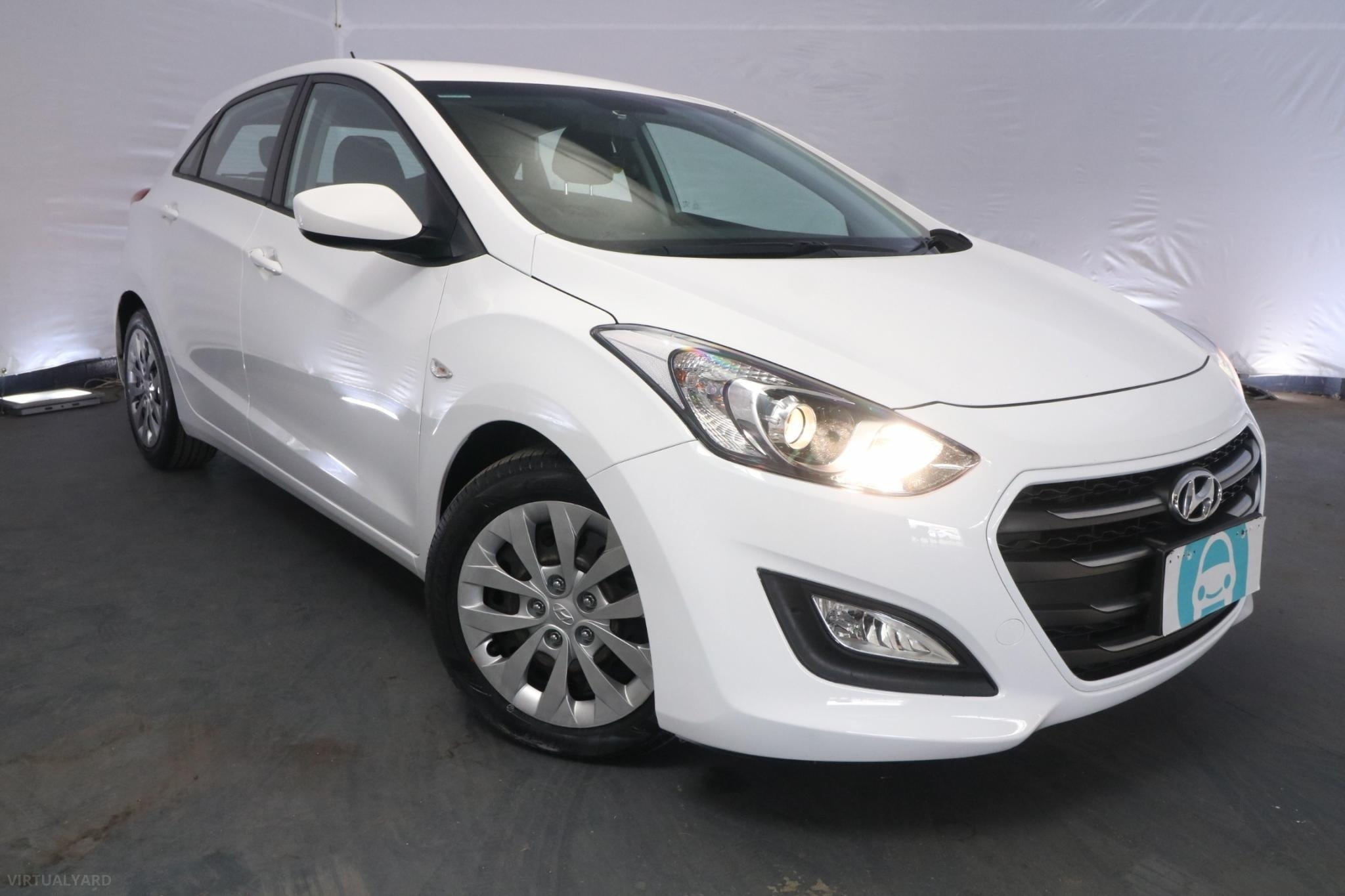 2016 Hyundai i30 ACTIVE GD4 SERIES 2 UPDATE / 6 Speed Automatic / Hatchback / 1.8L / 4 Cylinder / Petrol / 4x2 / 5 door / June release URO16F